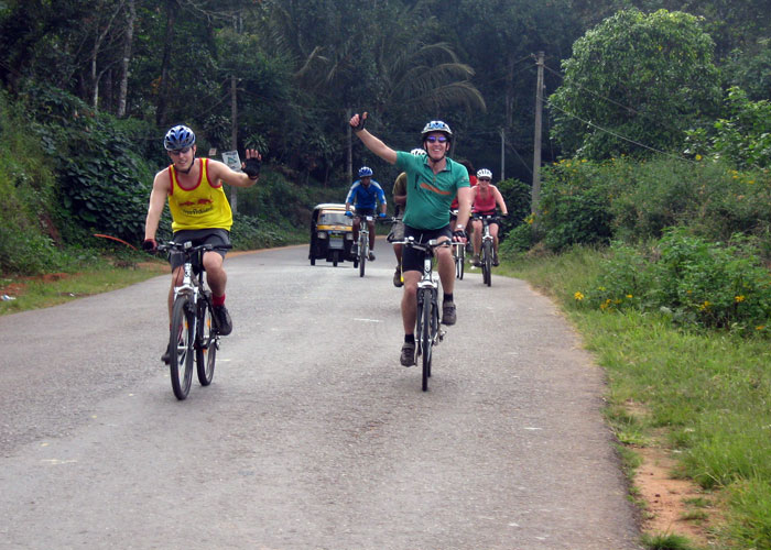 Cycling at Munnar