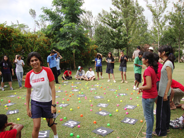 Fun Games at Munnar camp