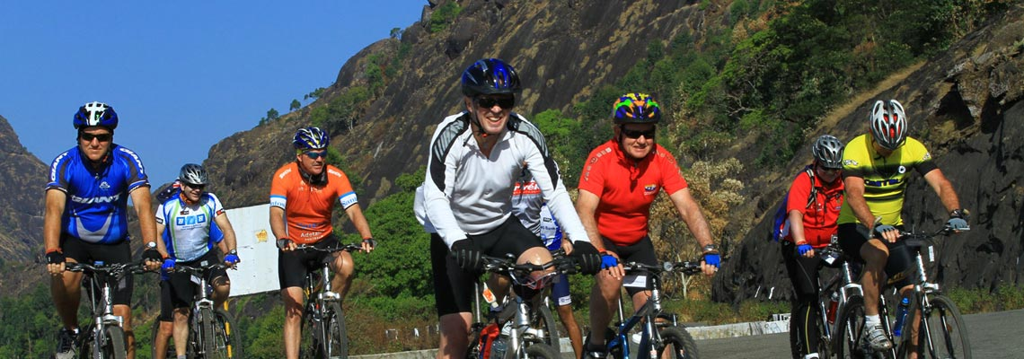 Cycling in Munnar